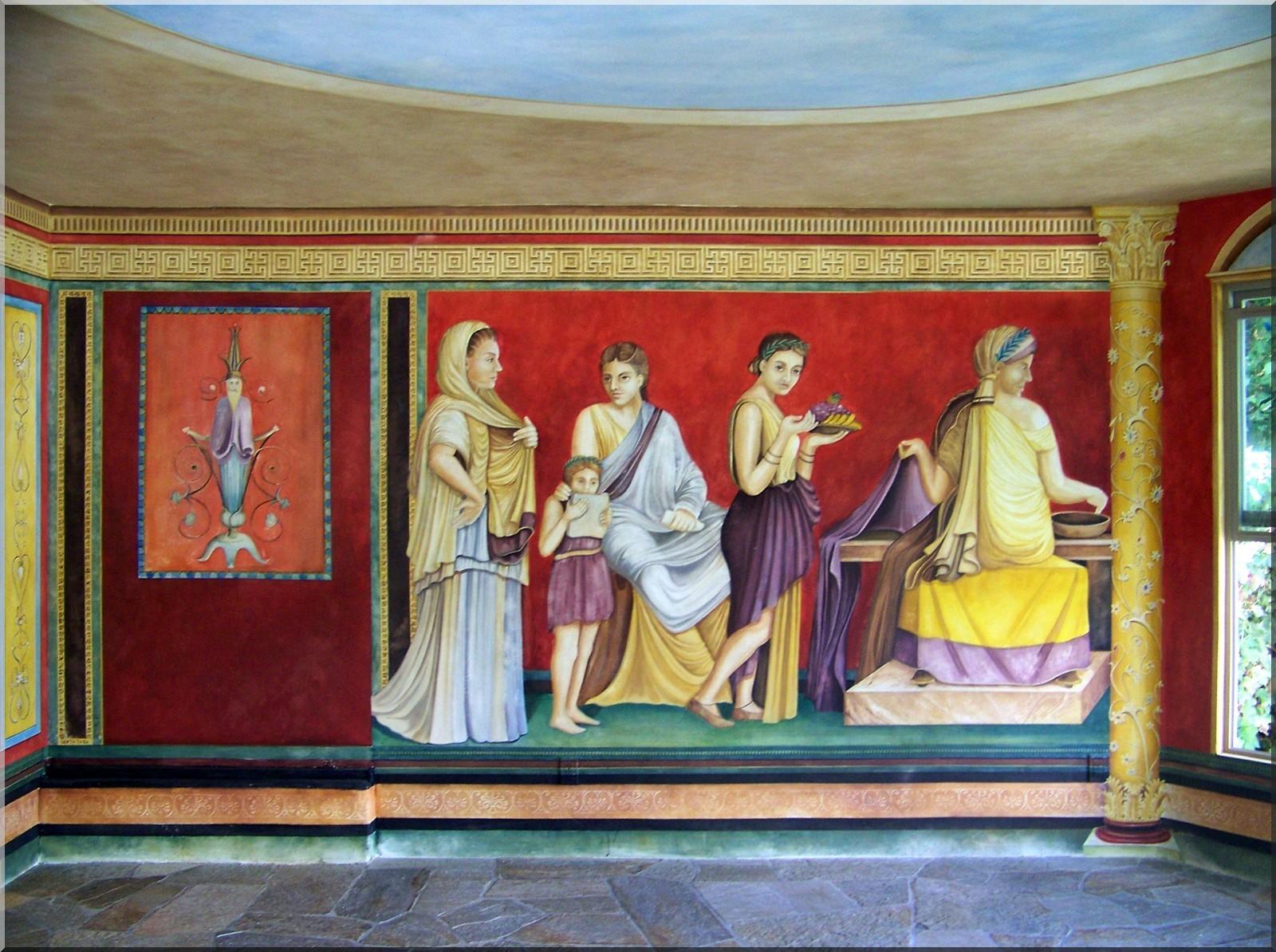 Renias Design San Diego Finest Murals Trompe LOeil